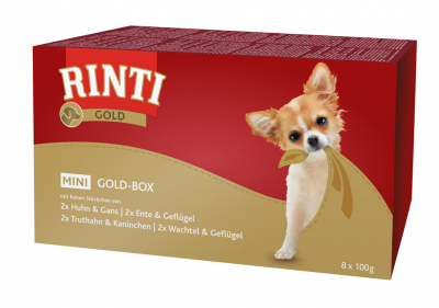 Rinti Gold Mini Multibox 8x100 g