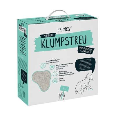 PRIMOX® KLUMPSTREU Mief-Minimizer + Signalperlen 8 l