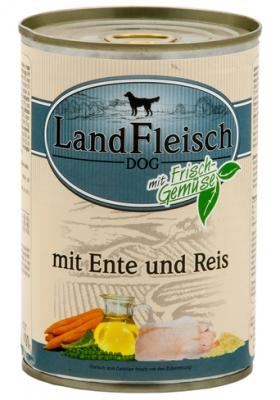 LandFleisch Dog Pur 400 g Dose