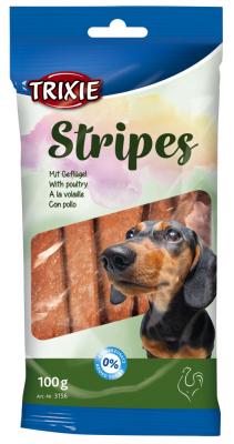 TRIXIE Stripes mit Geflügel 100 g Beutel
