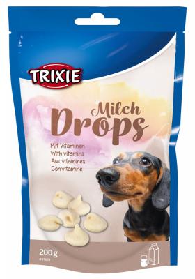 TRIXIE Milch Drops 200 g Beutel