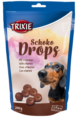 TRIXIE Schoko Drops 200 g Beutel