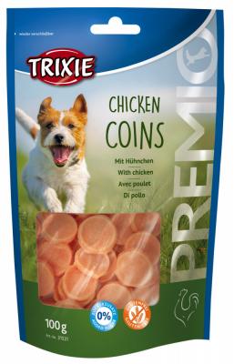 TRIXIE PREMIO Chicken Coins 100 g Beutel