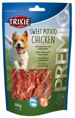 TRIXIE PREMIO Sweet Potato Chicken 100 g Beutel