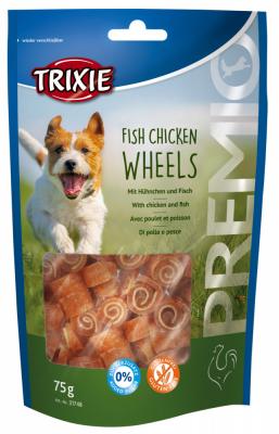 TRIXIE PREMIO Fish Chicken Wheels 75 g Beutel