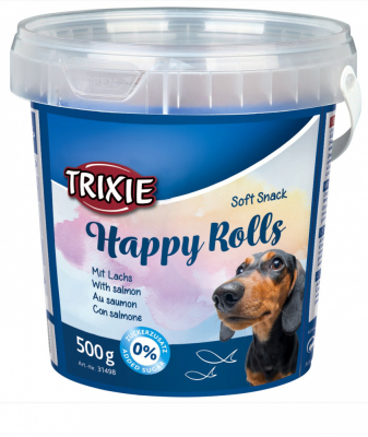 TRIXIE Soft Snack Happy Rolls 500 g Eimer