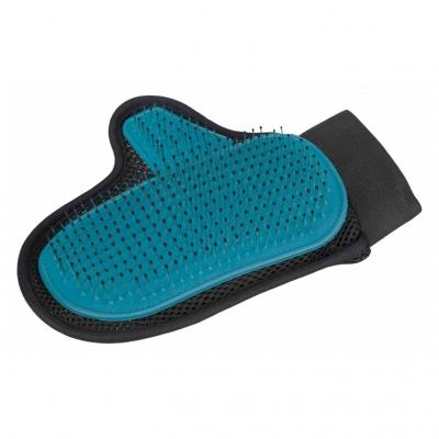 TRIXIE Fellpflege-Handschuh mit Metallborsten