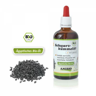 ANIBIO Schwarzkümmelöl 100 ml