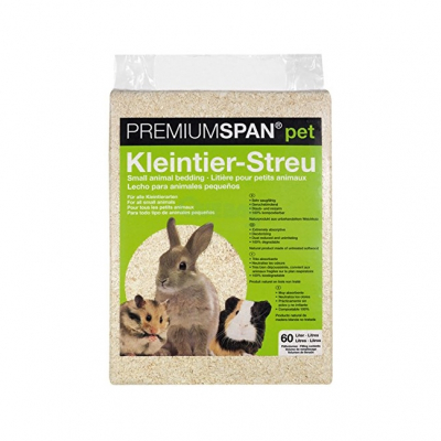 PREMIUMSPAN® pet Kleintier-Streu 60 Liter