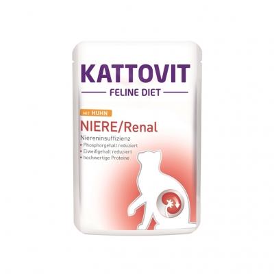 Kattovit NIERE/RENAL 85 g Frischebeutel