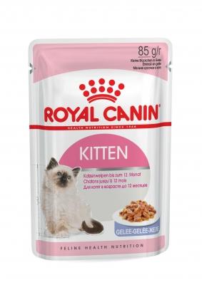 Royal Canin Kitten Instinctive in Gelee 85 g Frischebeutel