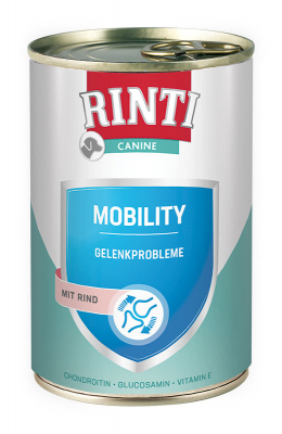 Rinti Canine Mobility mit Rind 400 g Dose