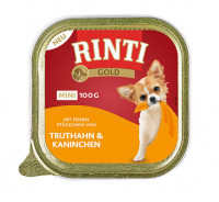Rinti Gold Mini 100 g Schale