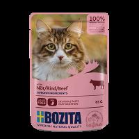 BOZITA Häppchen in Soße 85 g Frischebeutel