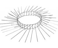 Katzenabwehrgürtel 160