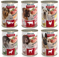 BEWI DOG® Feuchtnahrung 400 g Dose