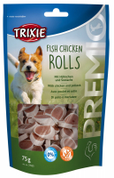 TRIXIE PREMIO Fish Chicken Rolls 75 g Beutel