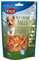 TRIXIE PREMIO Rice Chicken Balls 80 g Beutel