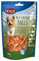TRIXIE PREMIO Rice Chicken Balls 80 g Beutel