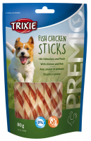 TRIXIE PREMIO Fish Chicken Sticks 80 g Beutel