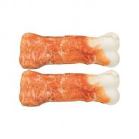 TRIXIE Kauknochen mit Huhn 2 St./11 cm