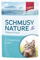 Schmusy Nature Meeres-Fisch 100 g Frischebeutel