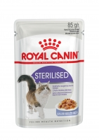 Royal Canin Sterilised in Gelee 85 g Beutel
